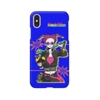 BOMB Girl(青) Smartphone cases
