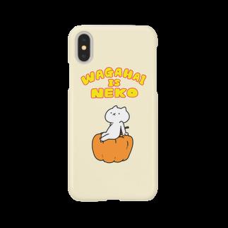【公式】吾輩は猫です。の吾輩は猫です。スマホケース Smartphone cases