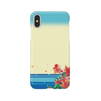 湖畔のヤマツツジ Smartphone cases
