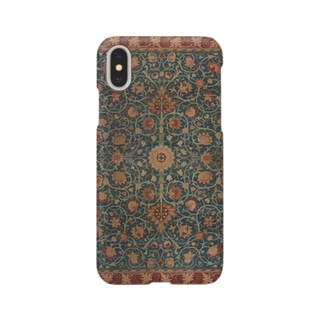 ウィリアム・モリス Holland Park carpet Smartphone cases