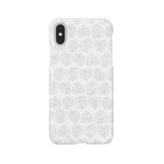 葉っぱスマホケース Smartphone cases