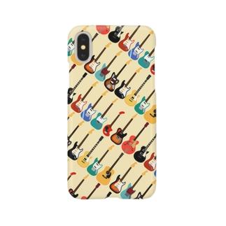 ギターがズラリ Smartphone cases