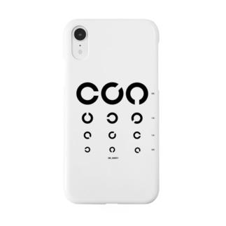 視力検査 Smartphone cases