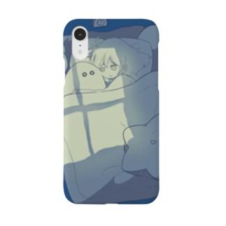 おばけと女の子 Smartphone cases