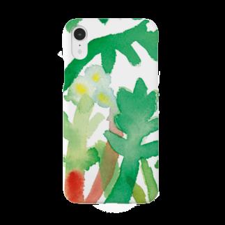 上田アーモンド UedaAlmondのSpring grass Smartphone cases