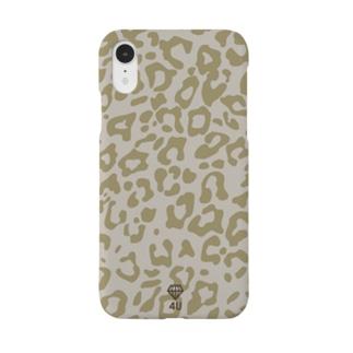BROWNレオパード 4U Smartphone cases