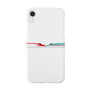 mononainaiの新幹線 こまちはやぶさ連結 Smartphone cases