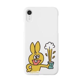 ラビやんと缶 Smartphone cases