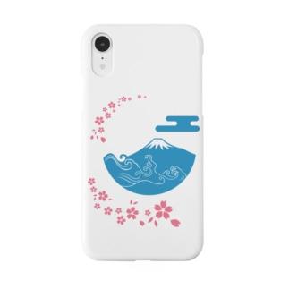 富士山・桜 Smartphone cases