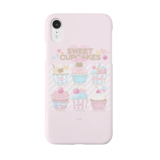SWEET CUPCAKES pink Smartphone cases