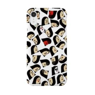 ポジティブしきぶちゃん Smartphone cases