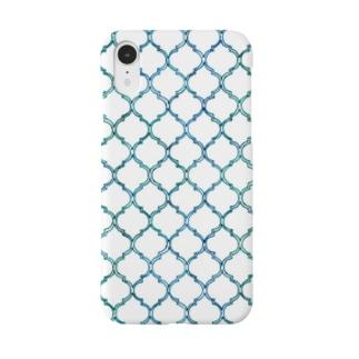滲みのモロッコタイル Smartphone cases