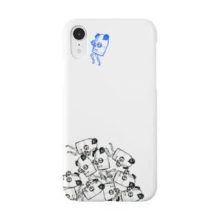 ブリキのパンダさん Smartphone cases