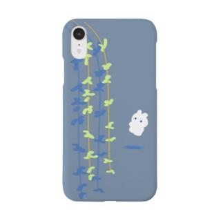柳に風とうさぎ Smartphone cases