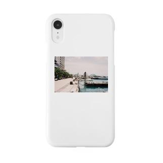 港にて Smartphone cases