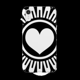 Ros-seのハートピンズ Smartphone cases