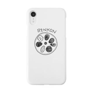 レンコンの穴のおじさん Smartphone cases