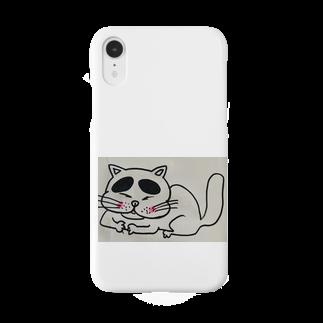 nyazzのにゃチン Smartphone cases