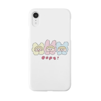 Cotton Animals! Oops! Smartphone cases