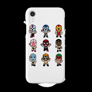 LUCHAのLUCHADOR nueve Smartphone cases