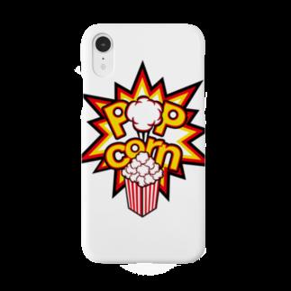 POPcorn公式グッズショップのPOPcorn スマホケース Smartphone cases