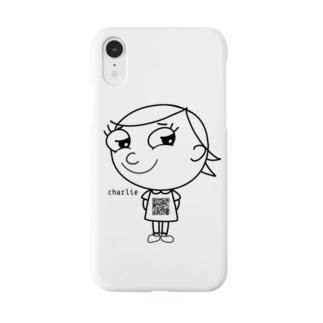 ジロリ    〜charlie 〜   モノクロver. Smartphone cases