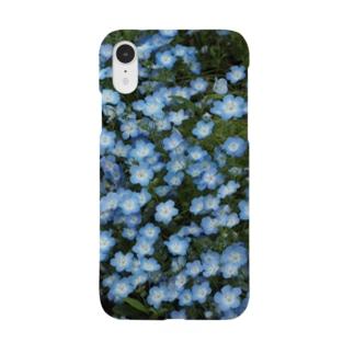 ネモフィラ Smartphone cases