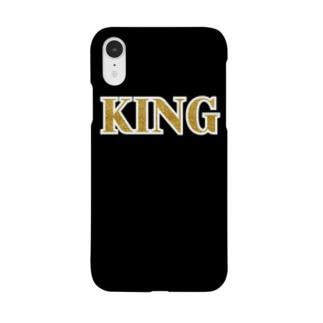 KING Black & Gold Smartphone cases