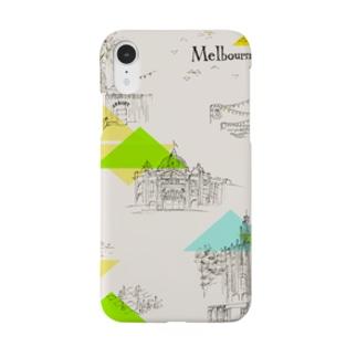 メルボルン Smartphone cases