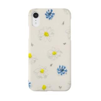 花柄 シンプル Smartphone cases