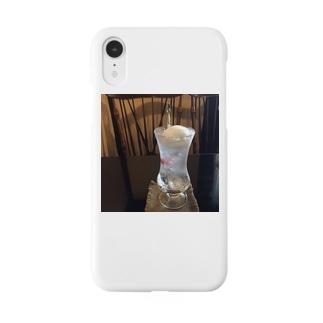 あの店のラムネフロート Smartphone cases