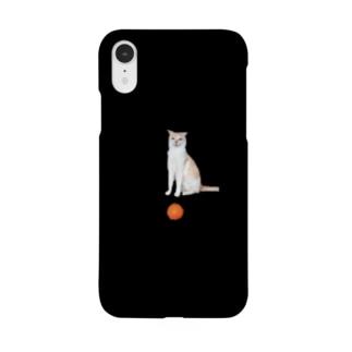 オレンジ猫のiPhoneケース Smartphone cases