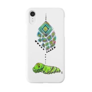 芋虫の夢 Smartphone cases