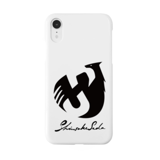 Shinsuke Sada Goods ShopのSHINSUKE SADA オフィシャルロゴグッズ Smartphone cases