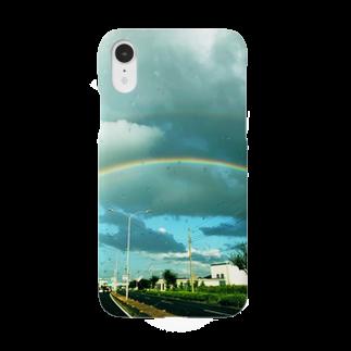 susuraの雨上がりの虹 Smartphone cases