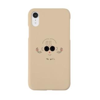 tha girl's ブラウニー Smartphone cases