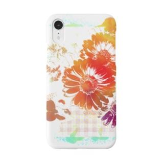 フラワーワールド Smartphone cases