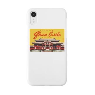 【首里城・再建応援アイテム】WE SUPPORT SHURI CASTLE Smartphone cases