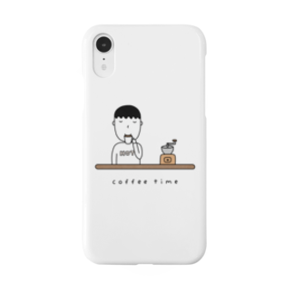 そろり屋のコーヒー男子 Smartphone cases