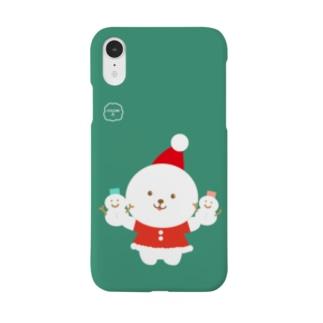 クリスマス【ふぅふぅ犬】ビションフリーゼ!! Smartphone cases