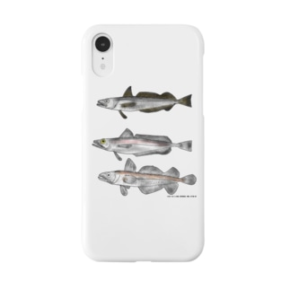 3匹のメルルーサ Smartphone cases