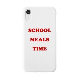 「おいしい給食」公式グッズショップのおいしい給食 POPロゴ Smartphone cases