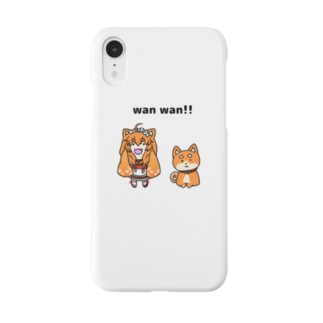 Wわんわん Smartphone cases