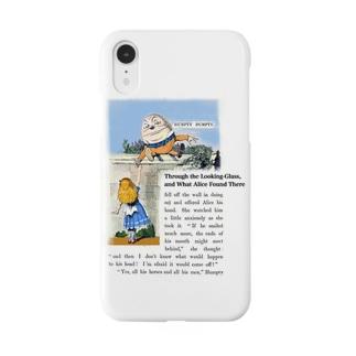 『 鏡の国のアリス 』ハンプティ・ダンプティとアリス Smartphone cases