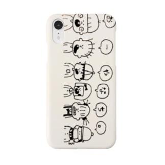 おーやなち。イラストロゴ Smartphone cases