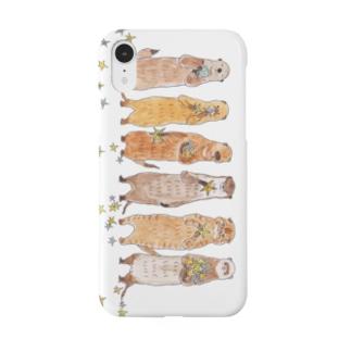トコロコムギの細長い子たち Smartphone cases