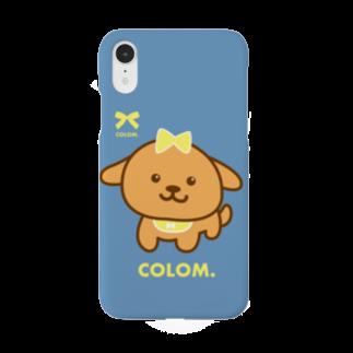 コロ。COLOM.犬いぬdogグッズ.PON-PONのコロ。COLOM.トイプードル!人気かわいい!いぬ犬グッズ!といぷーどる Smartphone cases