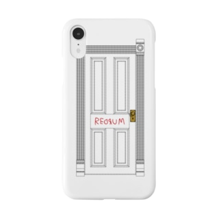 REDRUM!(レドラム)とドア Smartphone cases