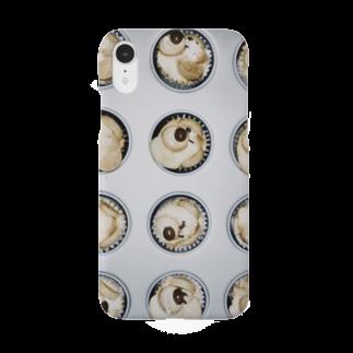 7kのおどろおどろくまマフィン Smartphone cases