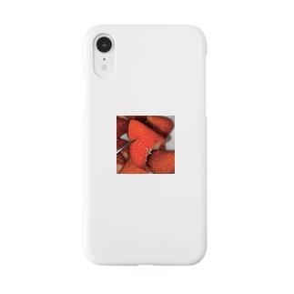 食べかけのいちごチャン Smartphone cases
